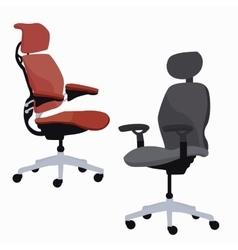 Ergonomic chair office furniture adjustable vector