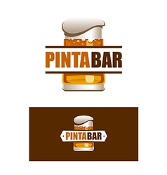 Pinta Bar Logo vector image vector image