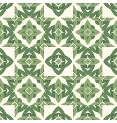 Abstract organic seamless background in green hues vector image vector image