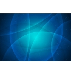 Abstract blue background abstract curved lines vector image vector image