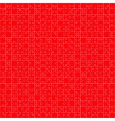 400 Red Puzzles vector image