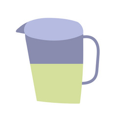 Cooking juice pitcher beverage isolated icon vector