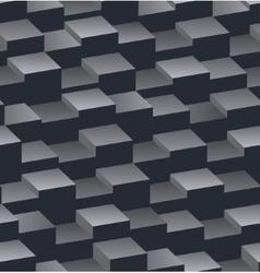 Geometrical horizontal seamless pattern vector image