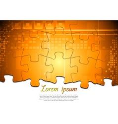 Hi-tech modern background vector image vector image