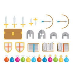 Set of Icons - Fantasy vector image vector image