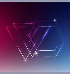 abstract background with color light vector image