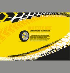 automotive tire background 33 vector image