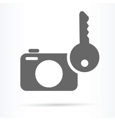 camera image security symbol icon vector image