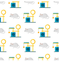 Cat pat accessory cute animal icons vector