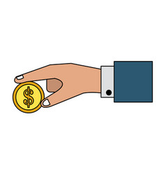 coin money icon image vector image