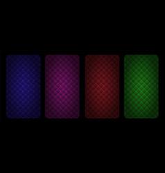 diamond padded upholstery abstract seamless vector image