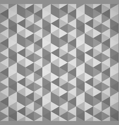 Grayscale mosaic tessellation background vector