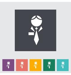 Human icon vector image vector image