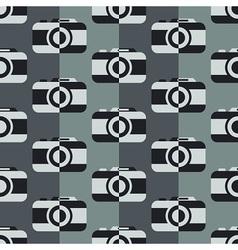 Monochrome camera pattern vector