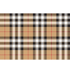Pride scotland gold tartan fabric texture vector