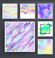 universal holographic blur texture abstract color vector image
