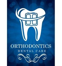 Orthodontics vector