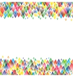 Colorful background geometric pattern design vector image