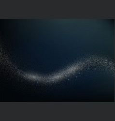 Abstract shiny glitter overlay design element vector