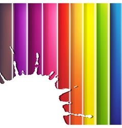 colorful background with blob vector image