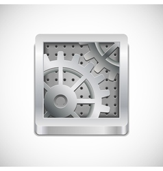 computer settings icon vector image