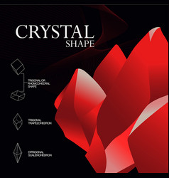 Crystalline symmetry vector