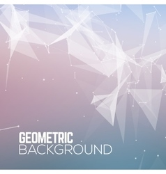 Geometric Polygonal abstract background vector