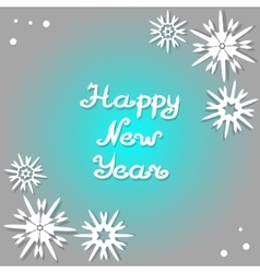 Happy New Year 2017 Design greeting card vector