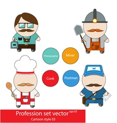 Profession set vector