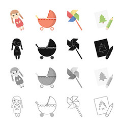 Recreation care entertainment and other web icon vector