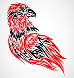 tribal eagle vector image