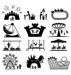 Childhood set Pictogram icon set vector image