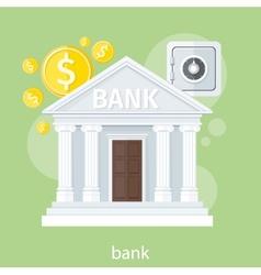 Bank office symbol vector