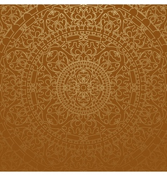 brown oriental background vector image
