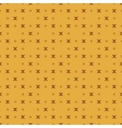 Star and polka dot geometric seamless pattern 11 vector image vector image