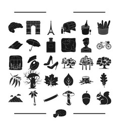 Art ecology nature and other web icon in black vector
