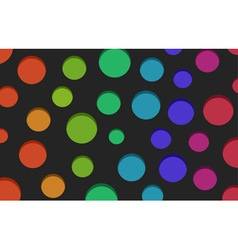 Color holes background vector image