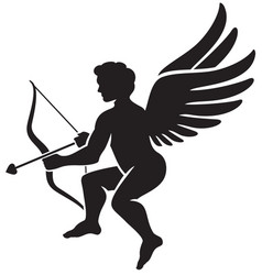 Cupid icon vector