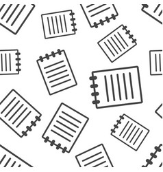 document seamless pattern background business vector image
