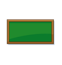 empty green school chalkboard background texture vector image