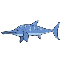 ichthyosaurus vector image