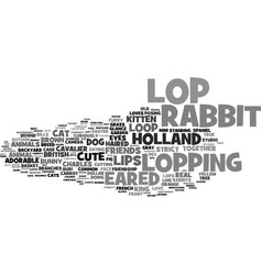 Lopping word cloud concept vector