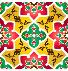 Pattern Islamic style small vector image