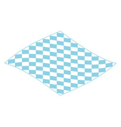 picnic blanket for outdoor icon isometric style vector image