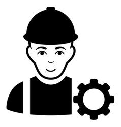 Repairman Flat Icon vector