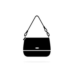 women handbag icon concept for vector image