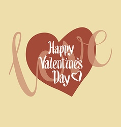 Happy valentines day and weeding cards vector image