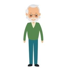 elder man icon vector image vector image