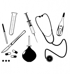medical tool vector image vector image
