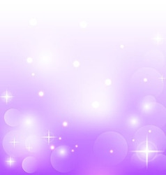 Abstract purple background with stars vector
